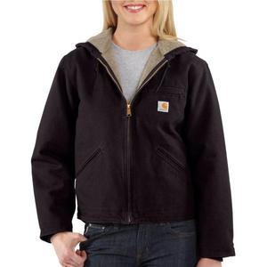 Carhartt Women's Sandstone Sierra Jacket/Sherpa-Lined WJ141